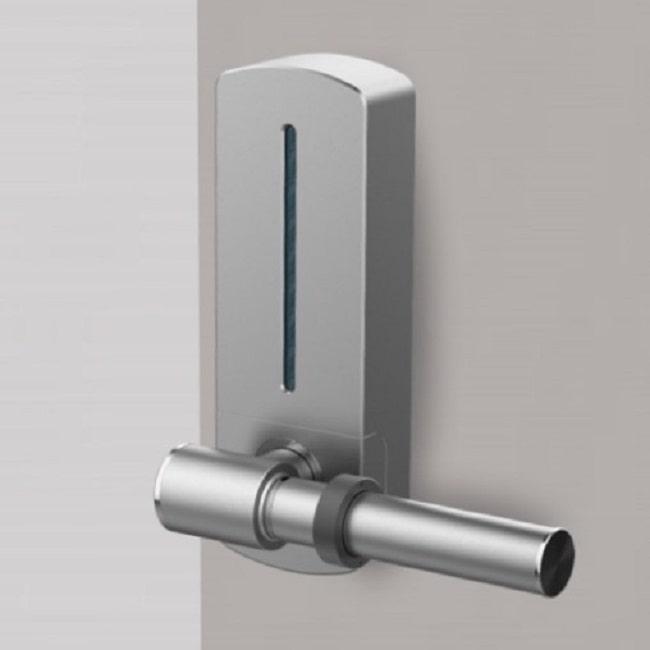 self-disinfecting door handles