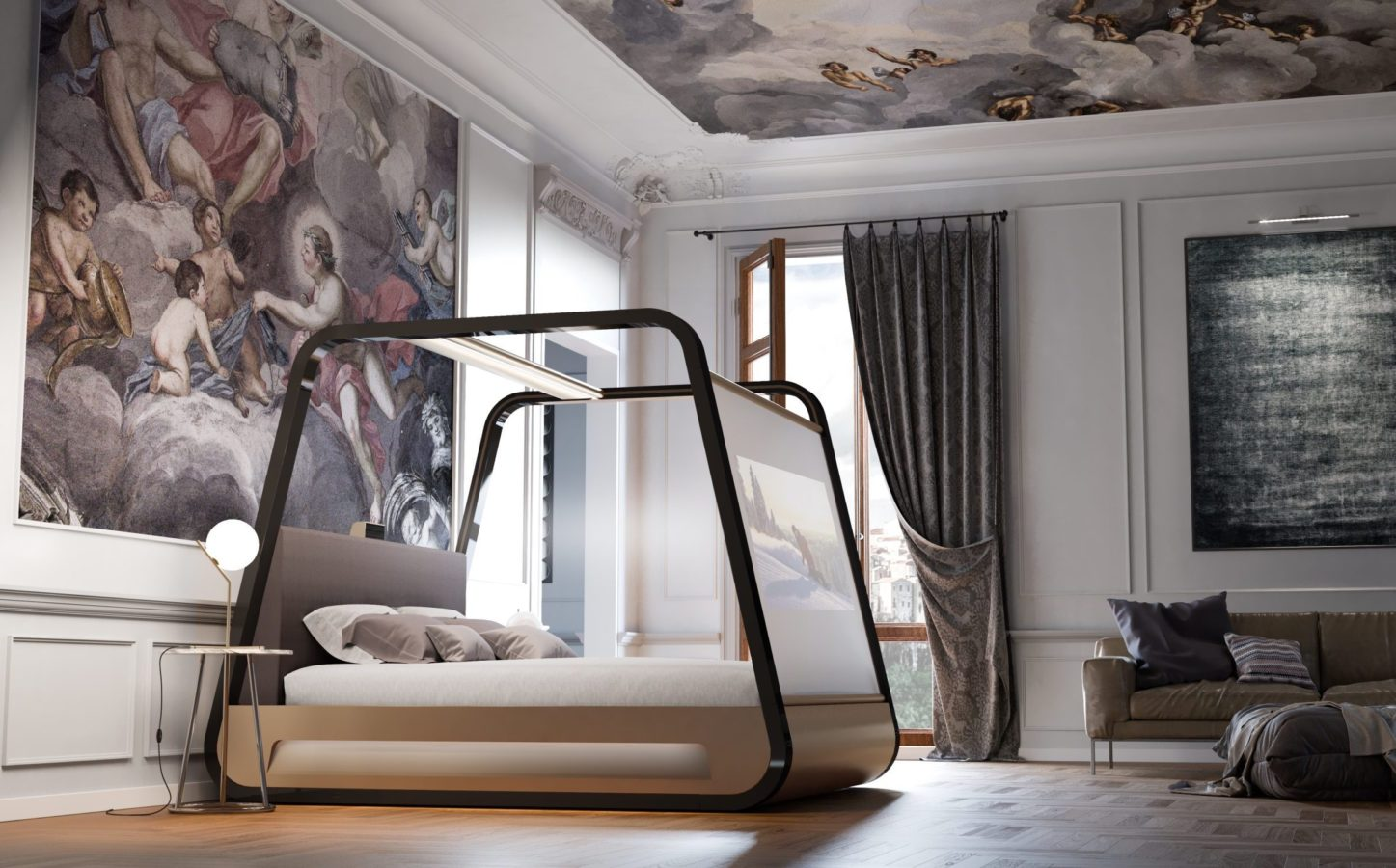 The Fanciest and Most Comfortable Beds Fit for a King (or Queen)
