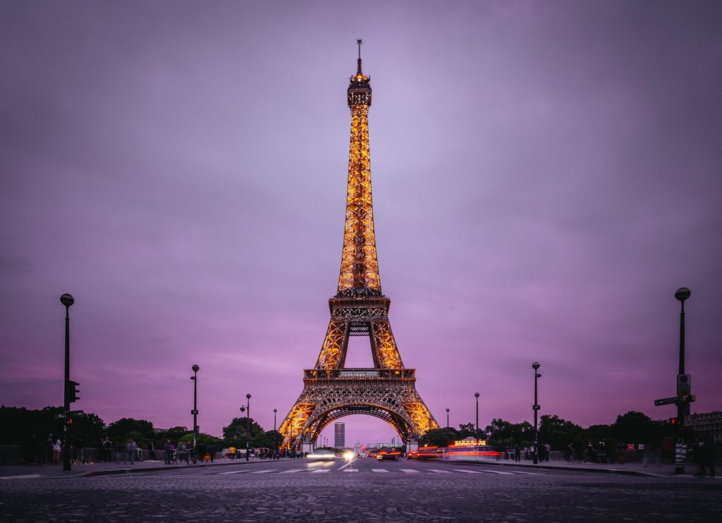 eiffel tower auction