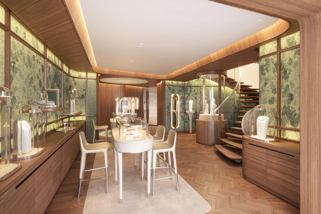 A Look Inside Van Cleef & Arpels' Revamped Hong Kong Flagship Boutique
