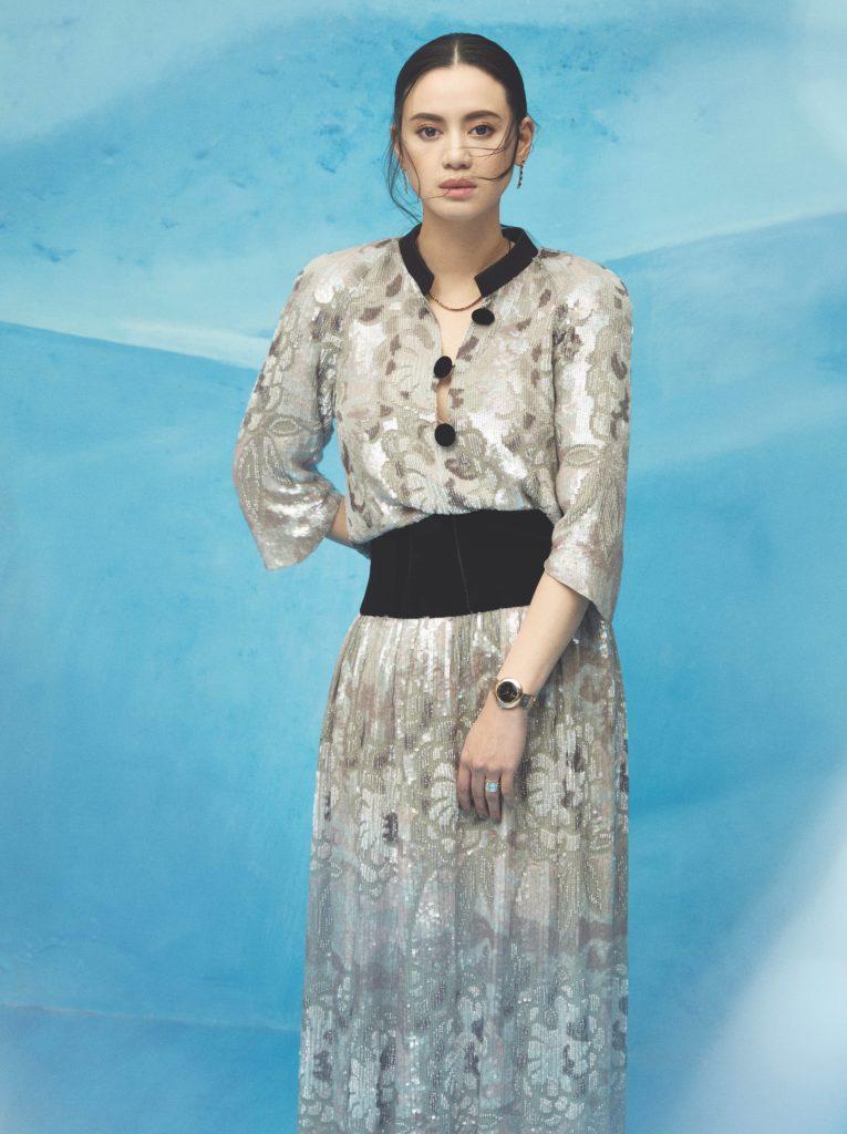 Emily Lam-Ho on the cover of Prestige December 2020