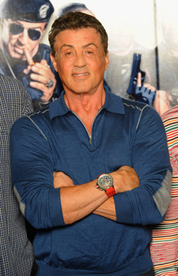 Sylvester Stallone On Each of His Watches on Auction