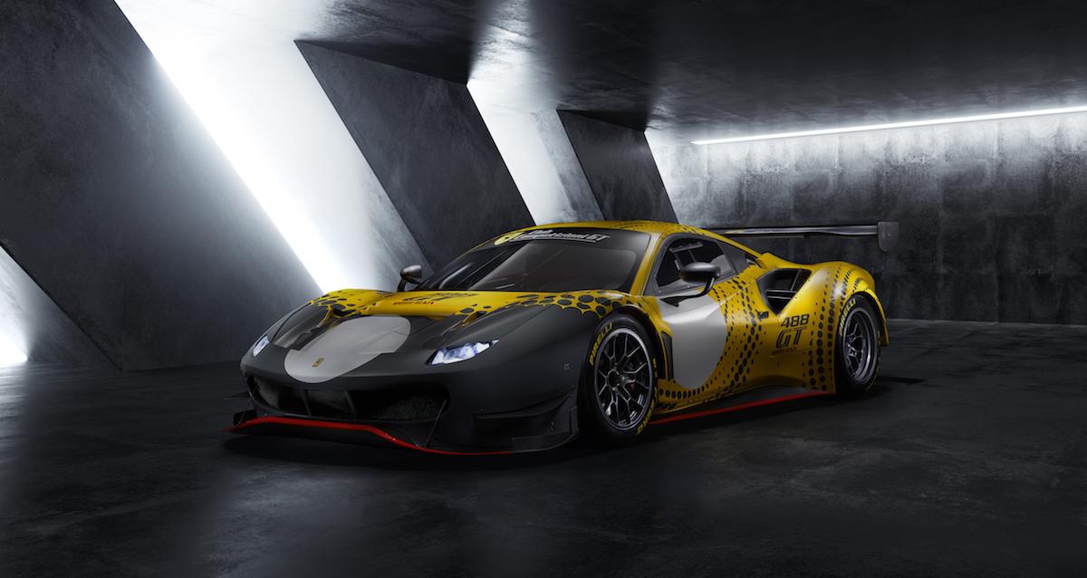 The Ferrari 488 Makes Its Swansong as a Limited-edition Racer