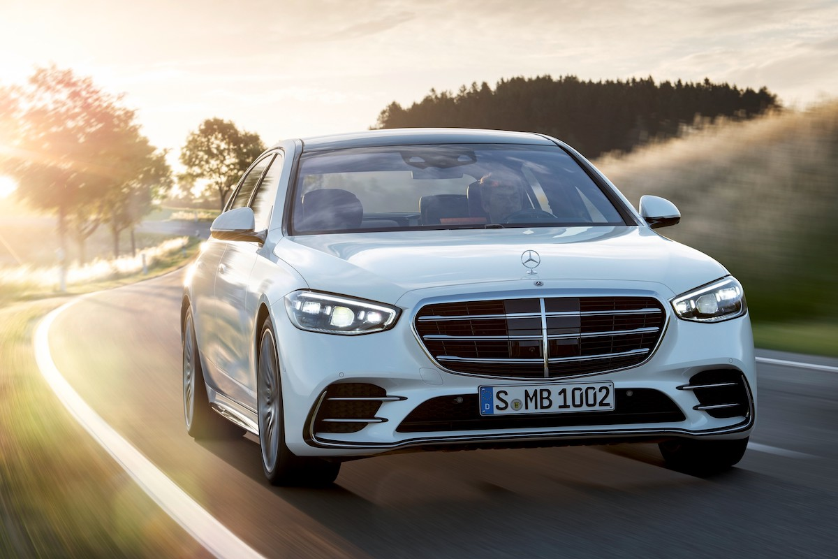 The Boss is Back: Say Hello to the New Mercedes-Benz S-Class