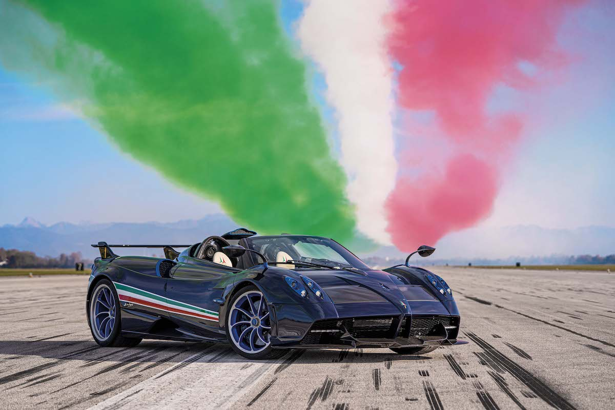 Ready to Fly: Pagani's Huayra Tricolore