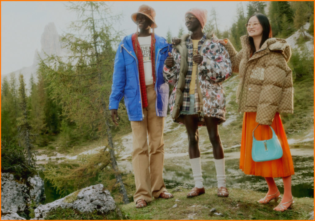 The North Face X Gucci 2020 Campaign