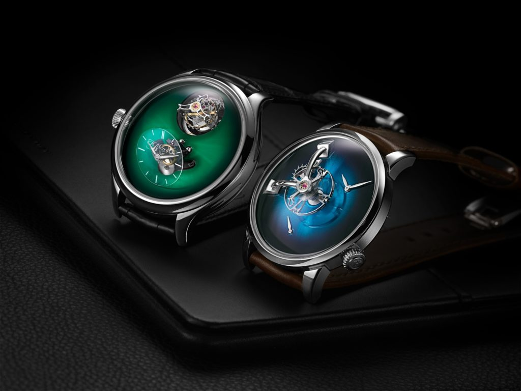 Watch that defined 2020: MB&F x H. Moser LM101 and H. Moser x MB&F Endeavour Cylndrical Tourbillon