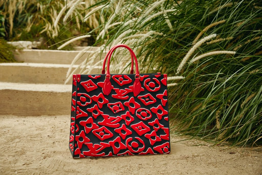 Urs Fischer x Louis Vuitton Onthego bag