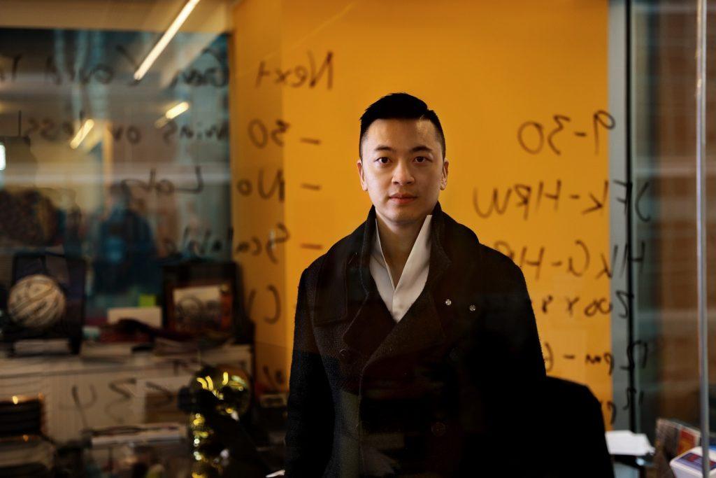 Danny Yeung at the Prenetics office in Hong Kong