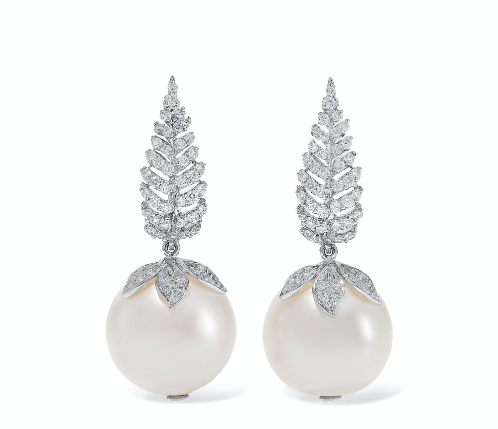 Bina Goenka pearl earrings