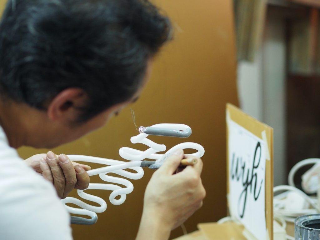 Wu Chi Kai at work