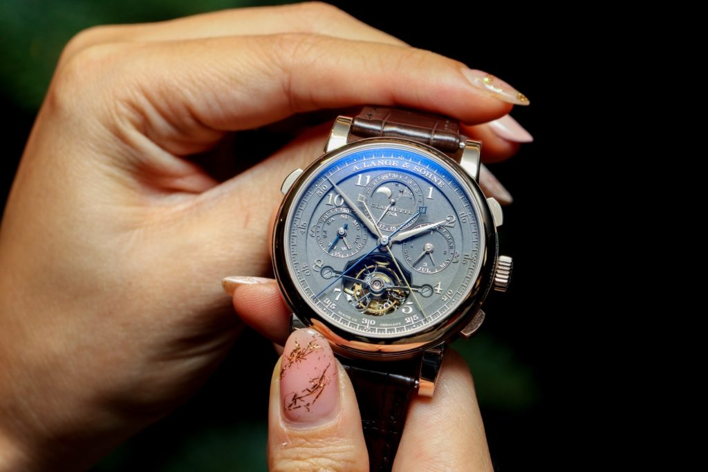 """Tourbograph Perpetual Honeygold """"Homage to F. A. Lange"""""""