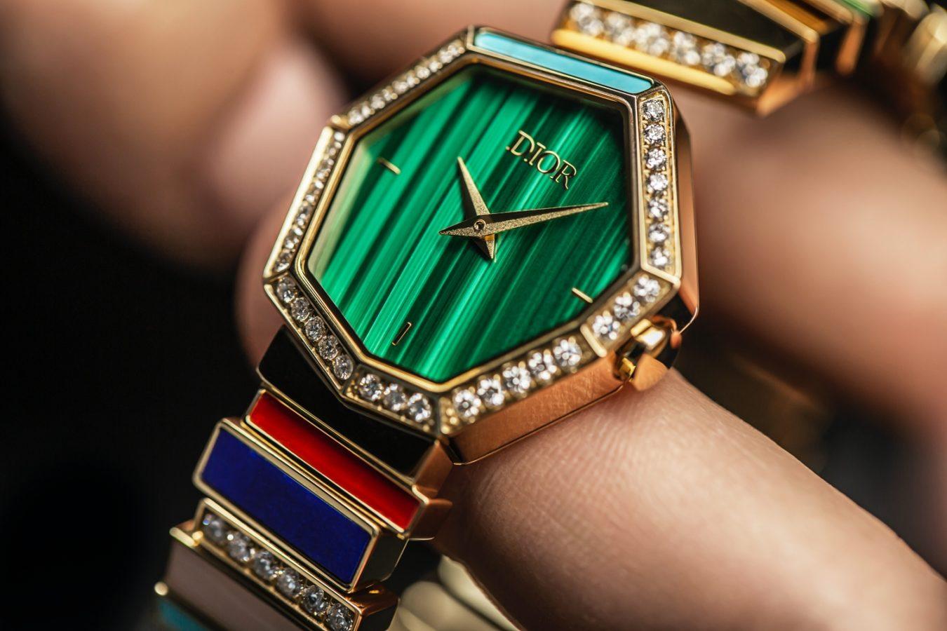 Victoire de Castellane on the Gem Dior Collection