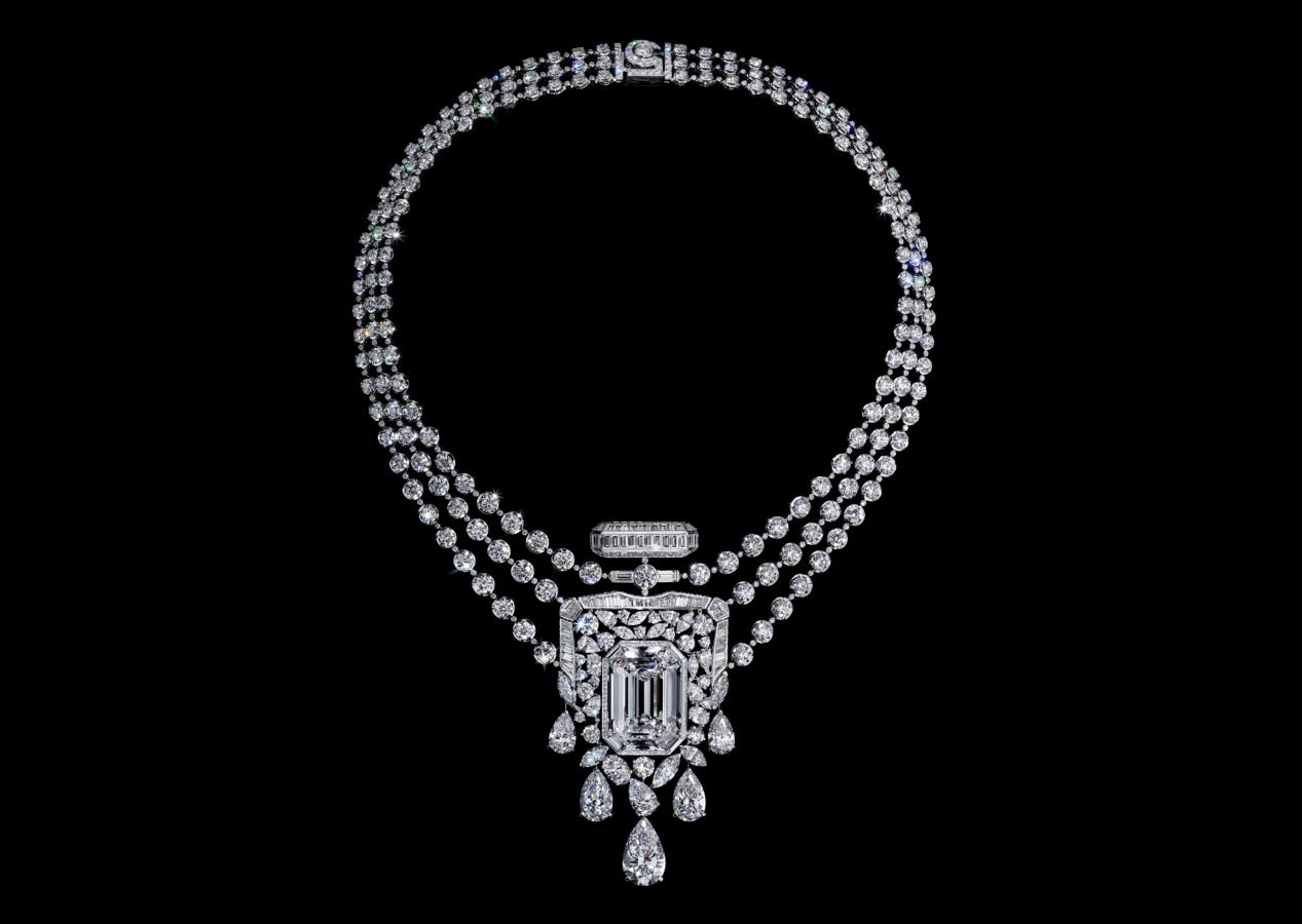 Chanel Celebrates 100 Years of the N°5 Perfume with a 55.55-Carat Diamond Necklace