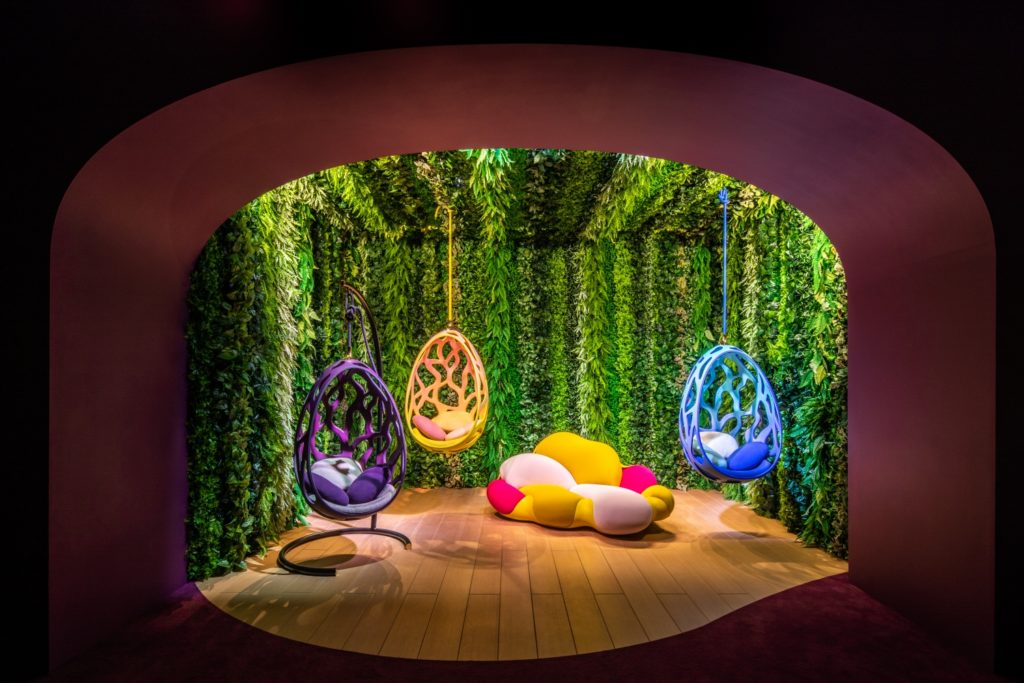 Louis Vuitton Objets Nomades 2021 in Hong Kong