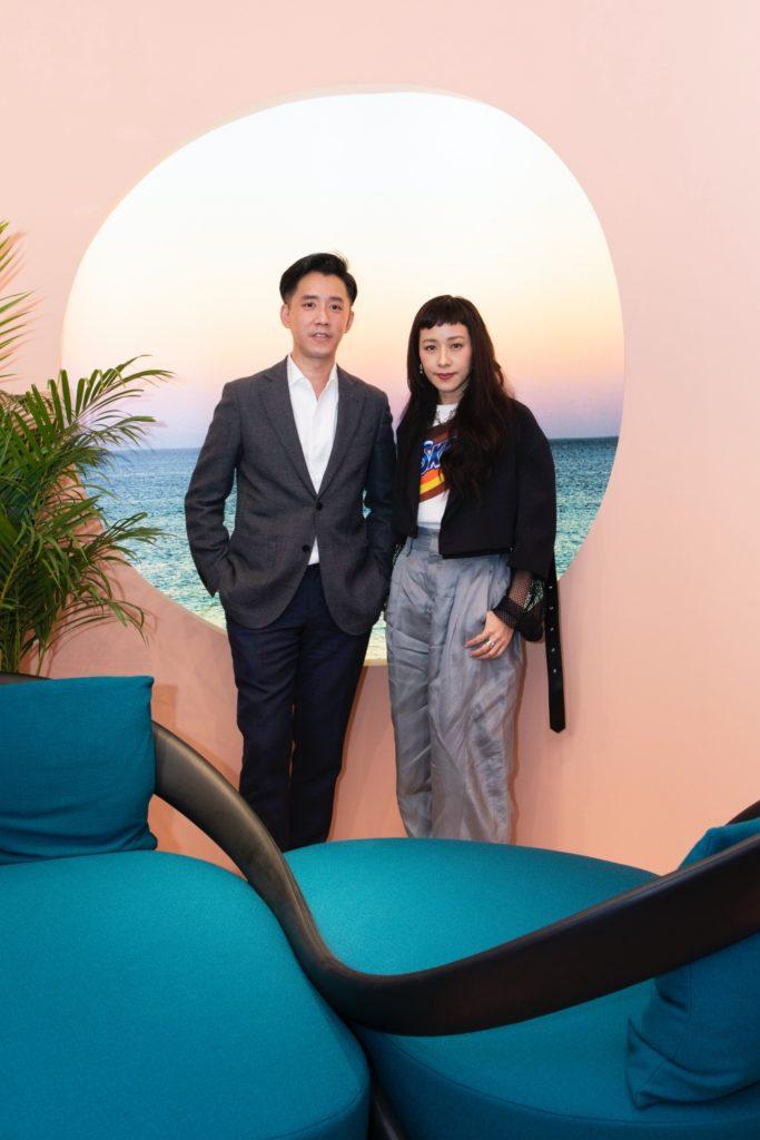 Andre Fu and Karena Lam