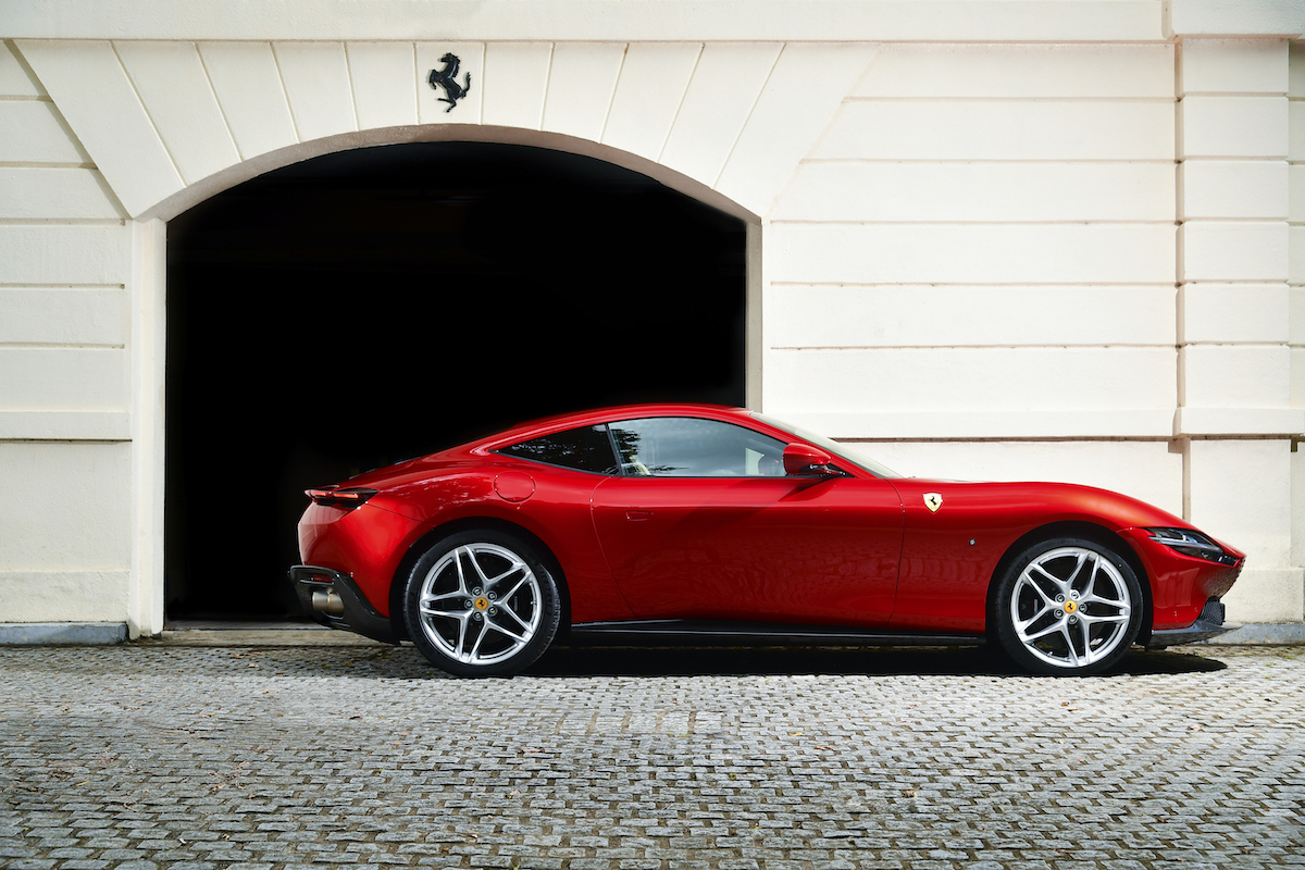 The Real Deal: Test Driving the New Ferrari Roma