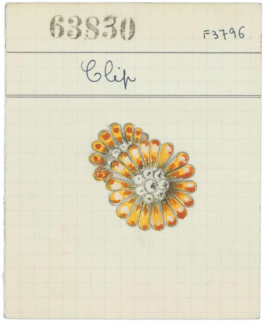 Van Cleef & Arpels flower motif