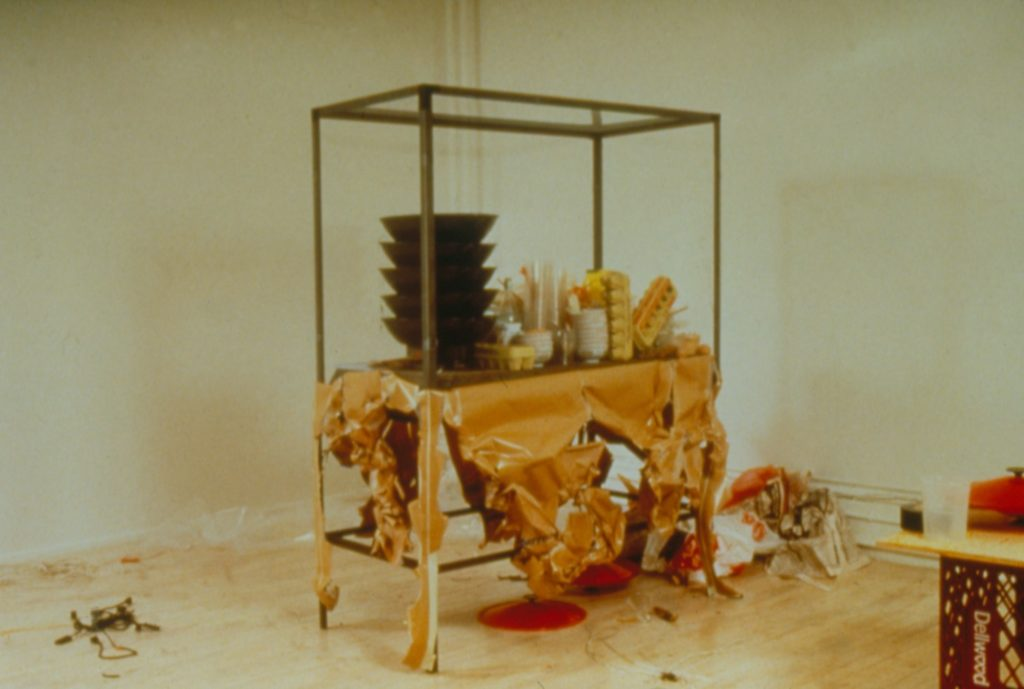 Rirkrit Tiravanija's untitled 1990 (pad thai)