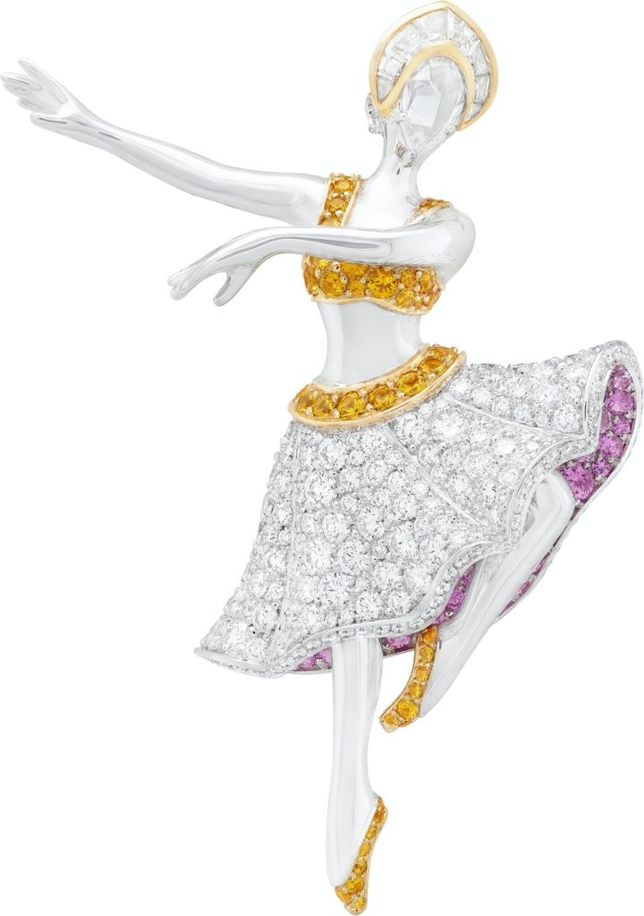 Van Cleef & Arpels Hedi ballerina clip