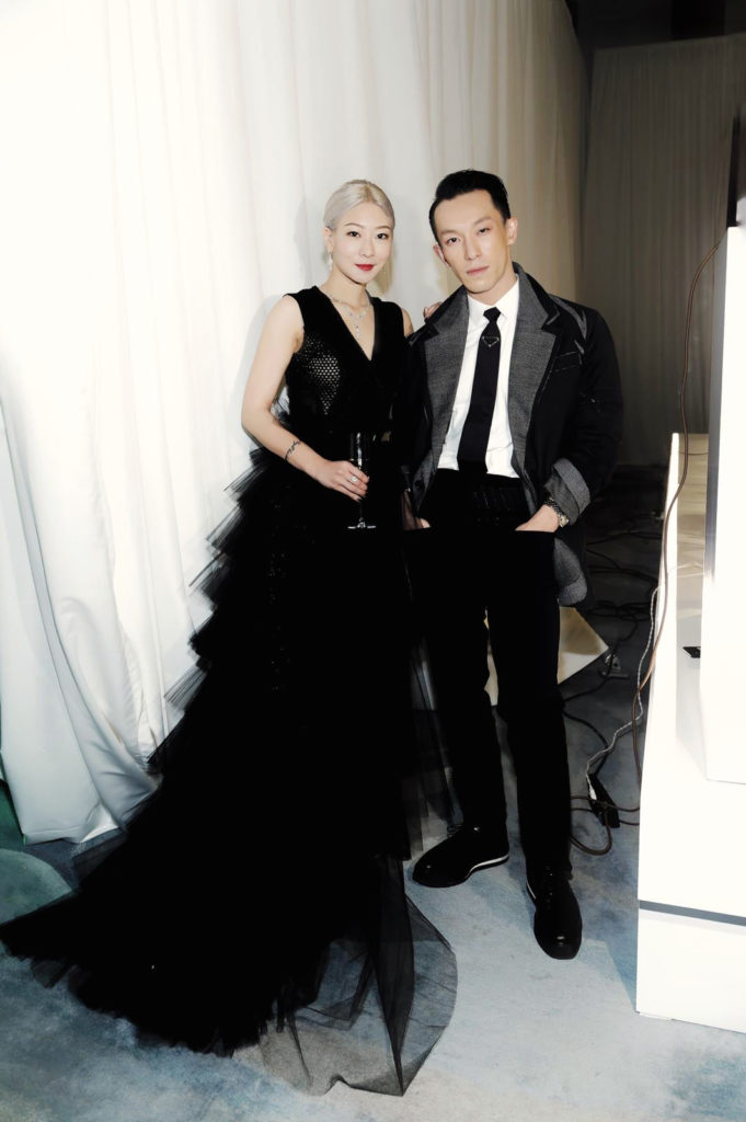 Yvonne Fong at Design trust with Harris Chan