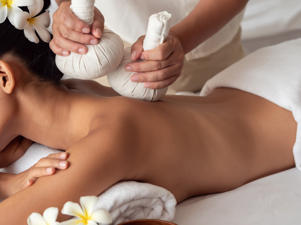 Thai herbal compress treatments, new at Sense of Touch