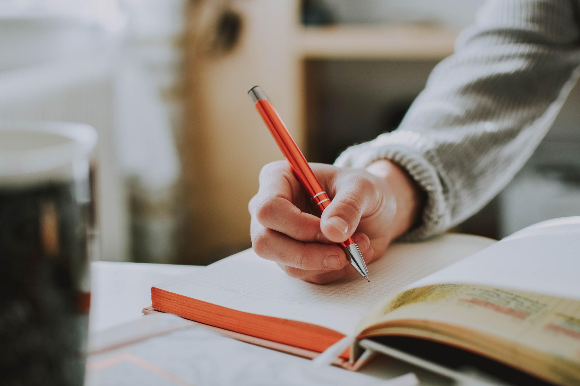 Meditative journaling
