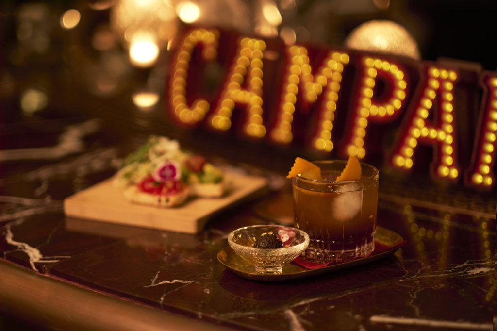 campari pop up italian cocktail snacks artisan lounge k11 musea