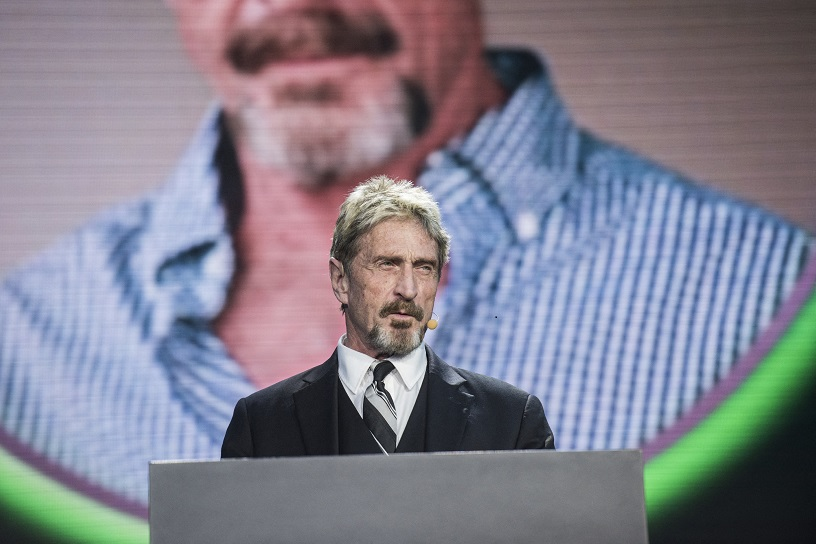 John McAfee - Scams in cryptocurrency