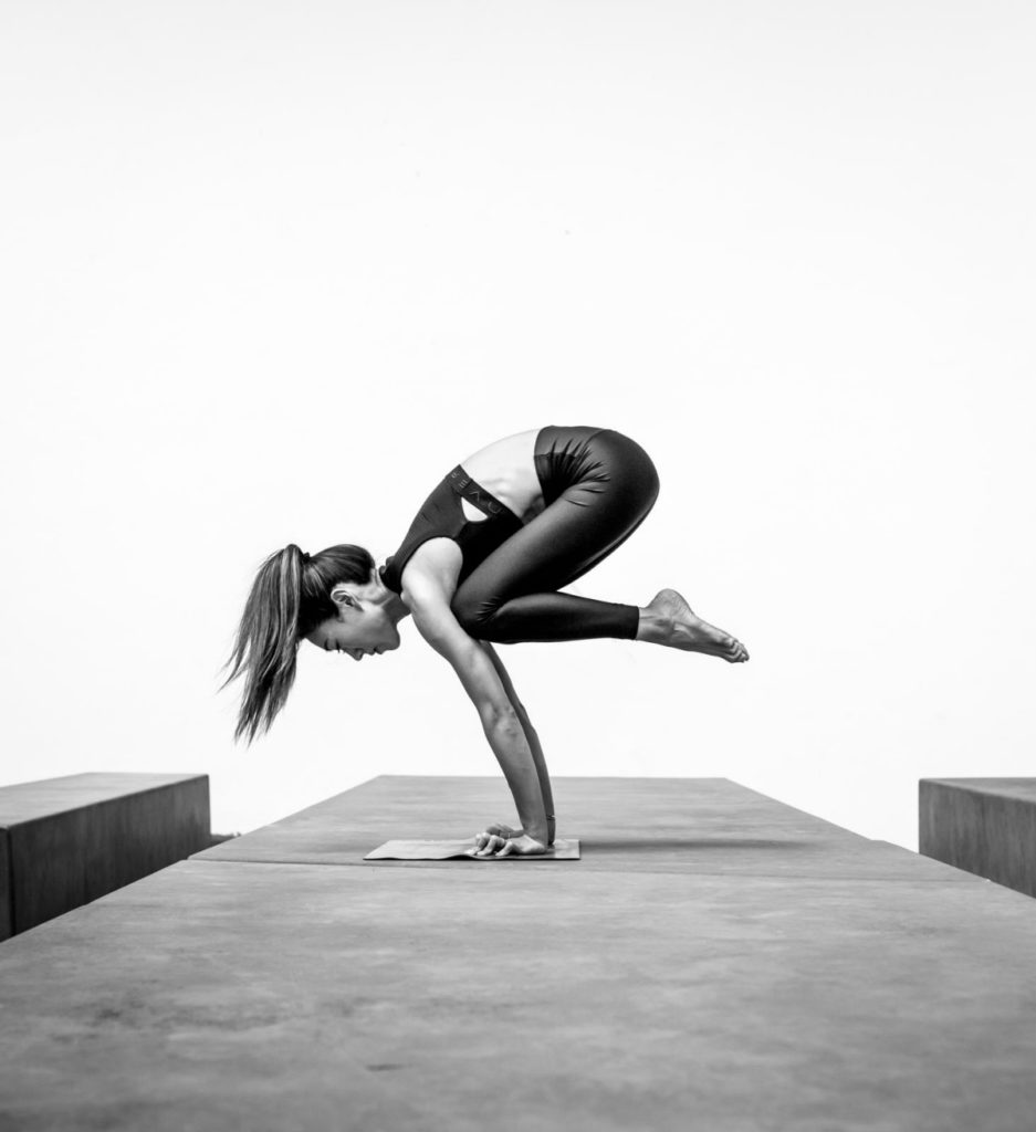 Jennie Cheung currently teaches inversion classes at Pure Yoga
