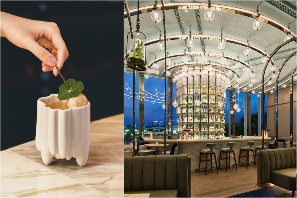 The Bark, Leaf and Love cocktail on Argo's menu