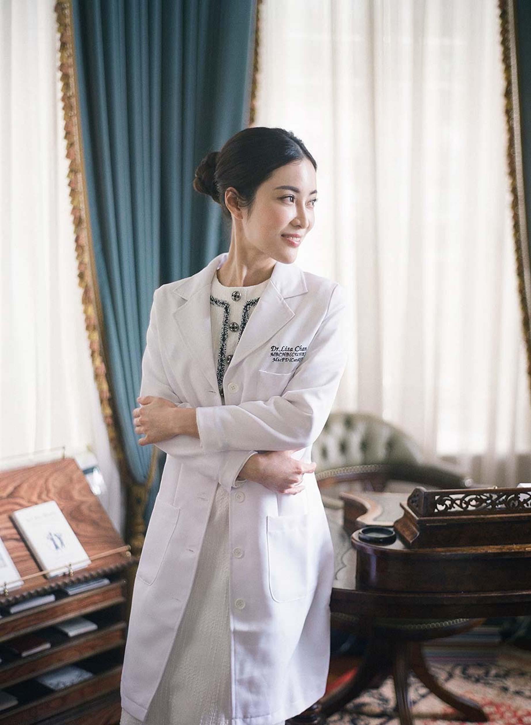 dr lisa chan portrait aesthetics doctor