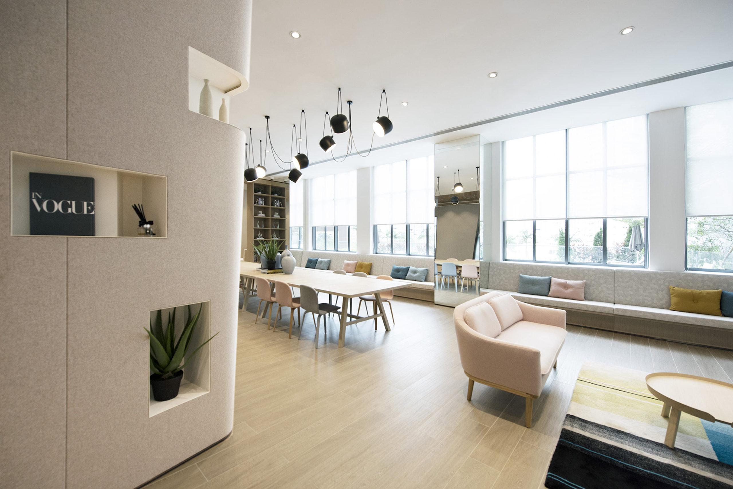 bean buro js aluminium window 'social house clubhouse nan fung group