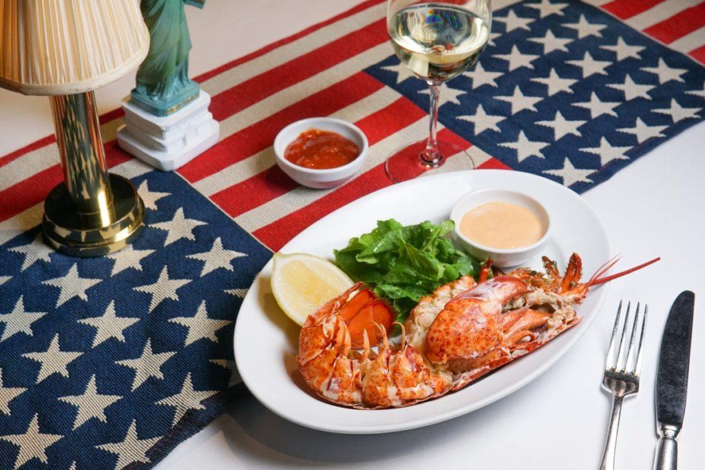 Lobster Cocktail at the Grand Hyatt Steakhouse