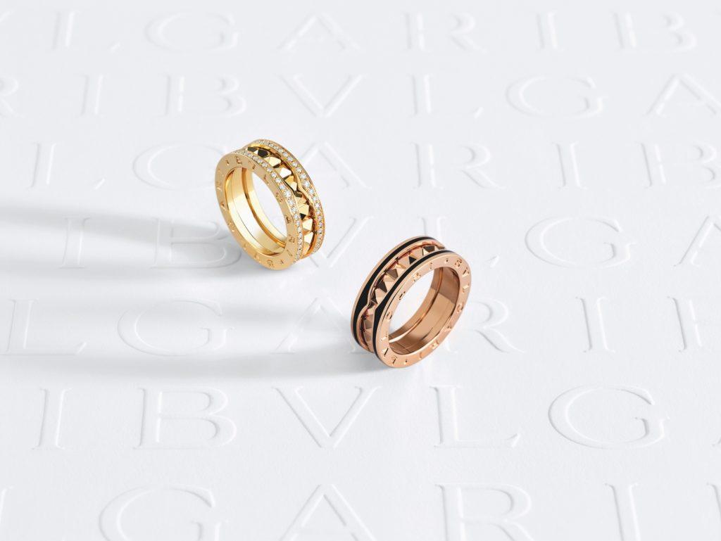 Bvlgari B.Zero 1 Rock collection rings