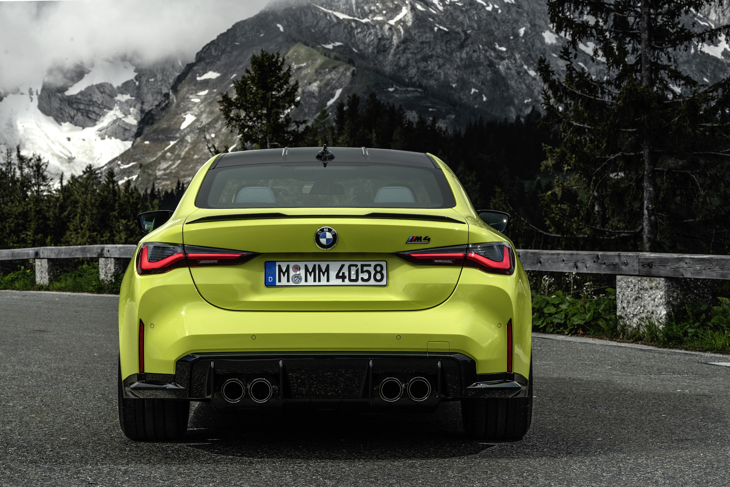 The BMW M4 Competition