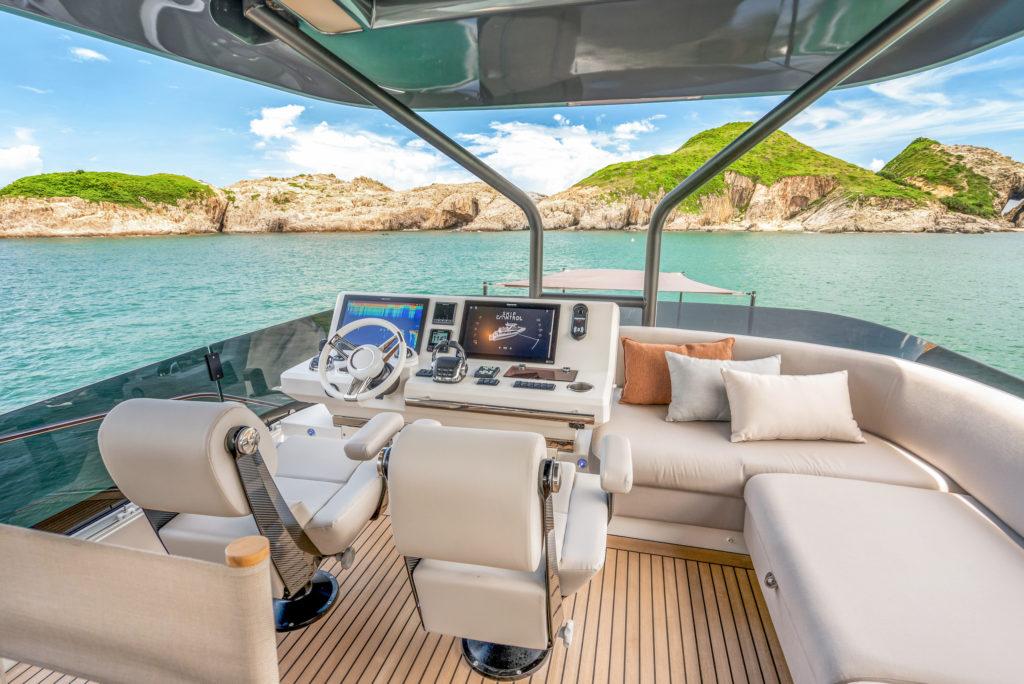 Prestige Yachts Stunning New X70 Flagship