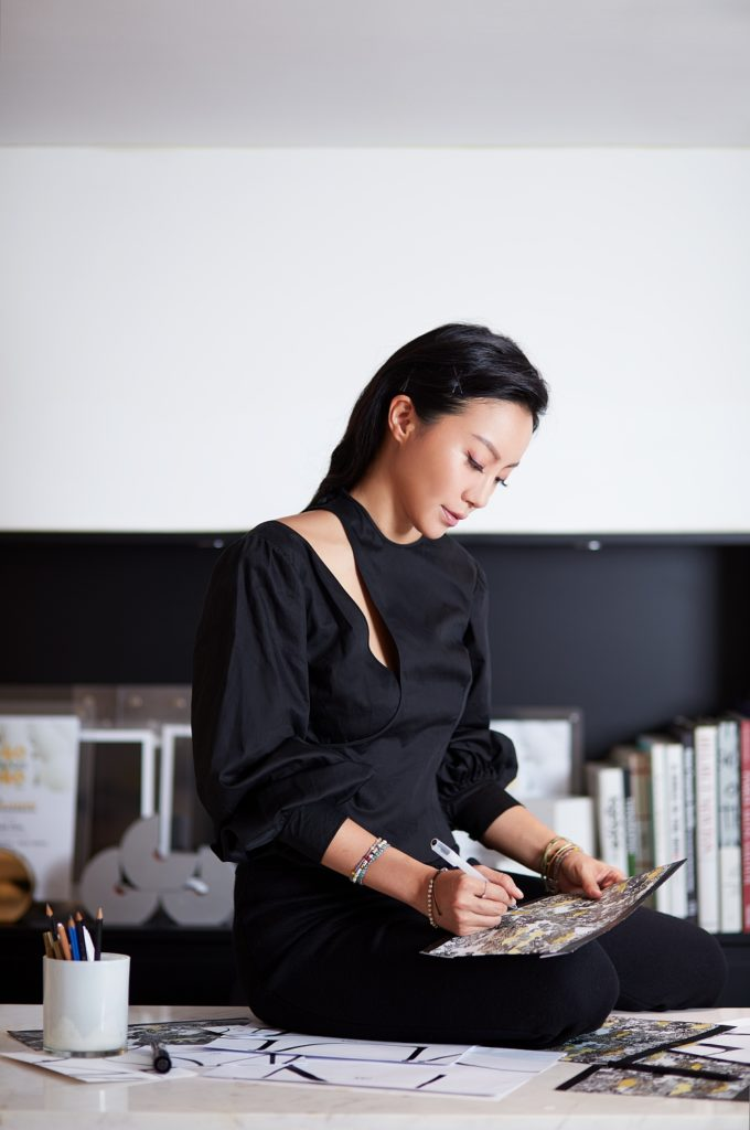 Ruth Chao at work