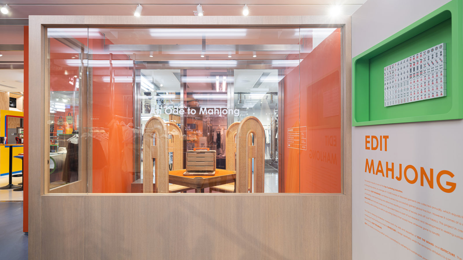Ode to Mahjong: An Installation and Project By Edit The Brand & Editecture