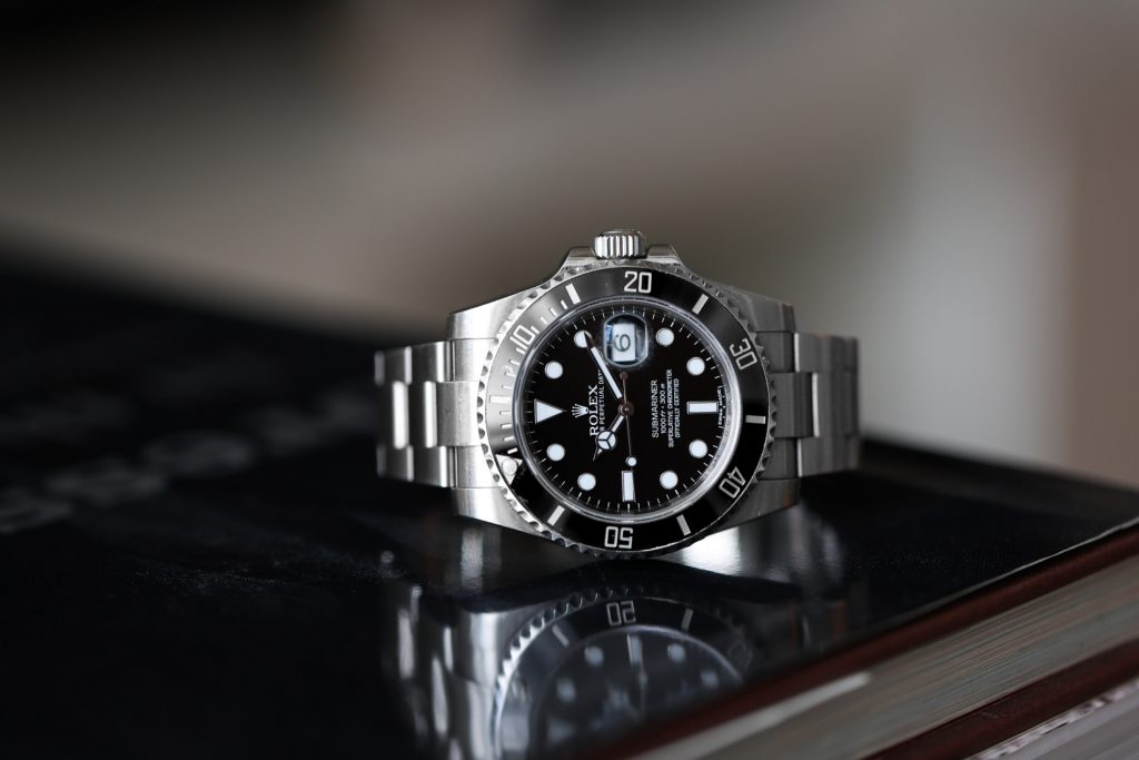 Wil Fang's Rolex Submariner, which his wife gifted him on their wedding day. (Image: Kevin Cureau)