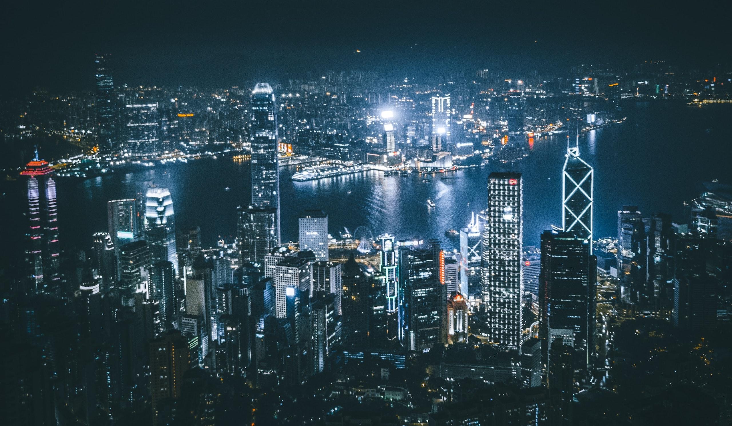 Where to hike at night in Hong Kong