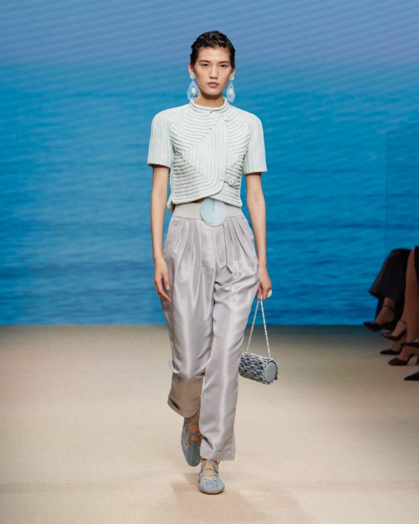 Giorgio Armani Women's Spring/Summer 2022 look