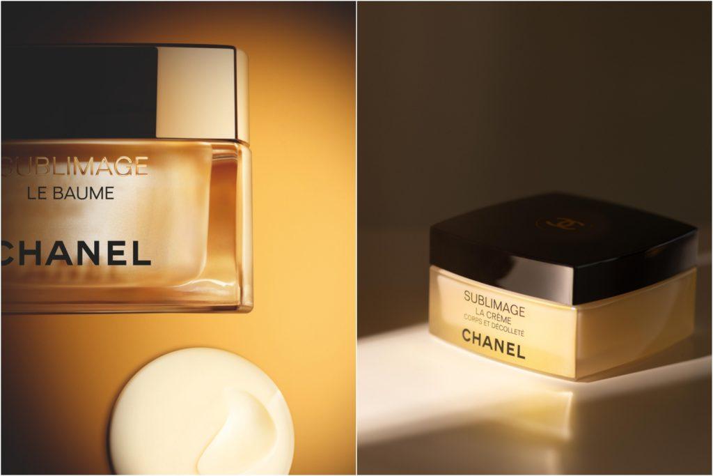 Chanel Sublimage Le Baume and La Crème Corps et Décolleté