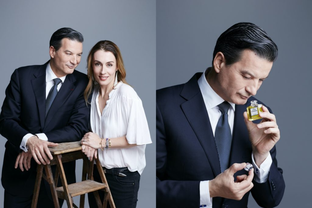 Thierry Wasser and Delphine Jelk
