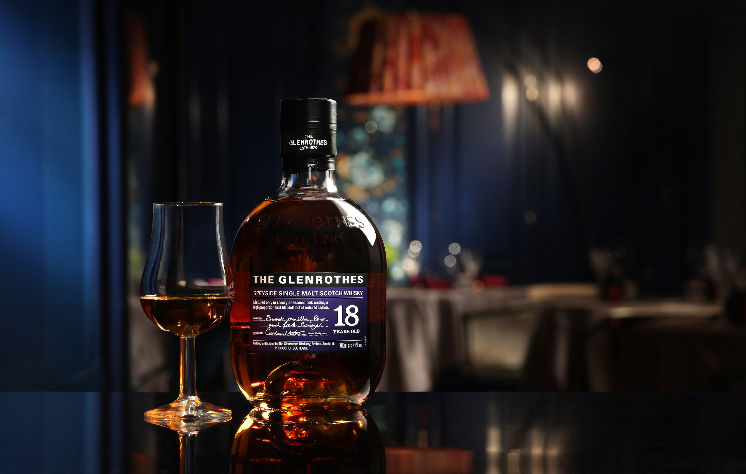 scotch whisky the glenrothes special shared menu collaboration