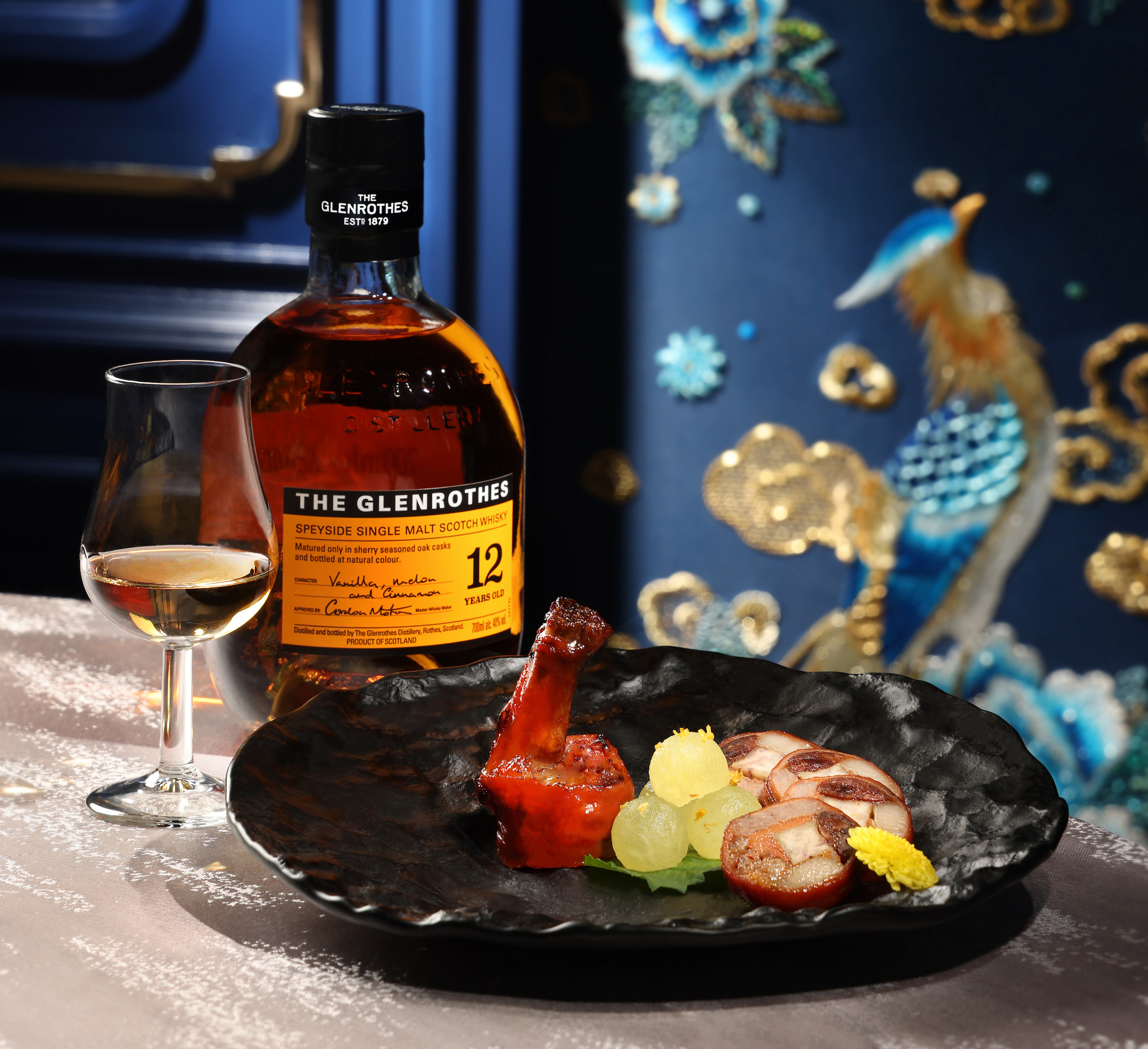 The Glenrothes and Man Wah collaborate on 'Beyond A Culinary Gem' Menu