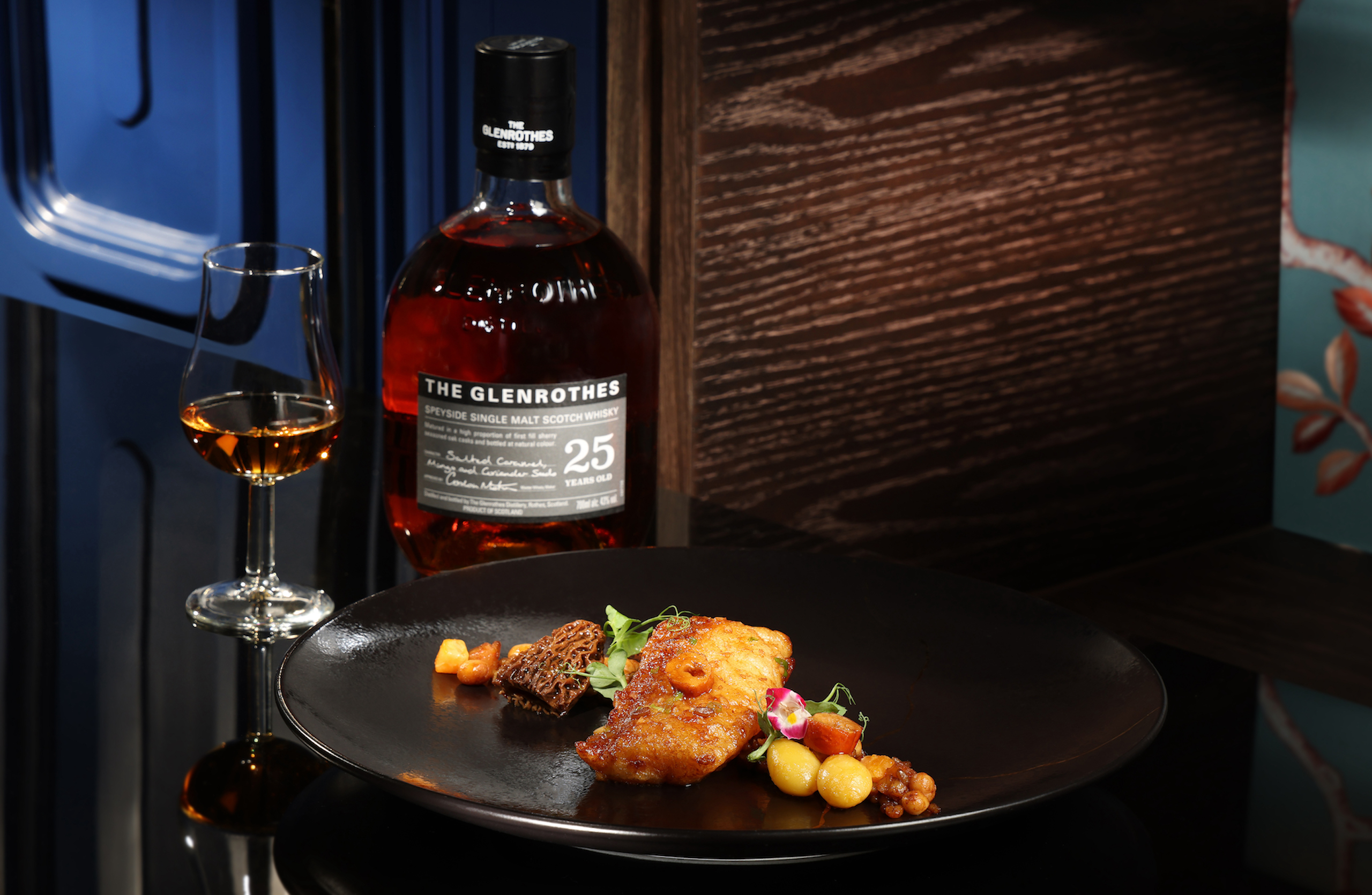 The Glenrothes25-Year-Old X Man Wah Cantonese Dishes