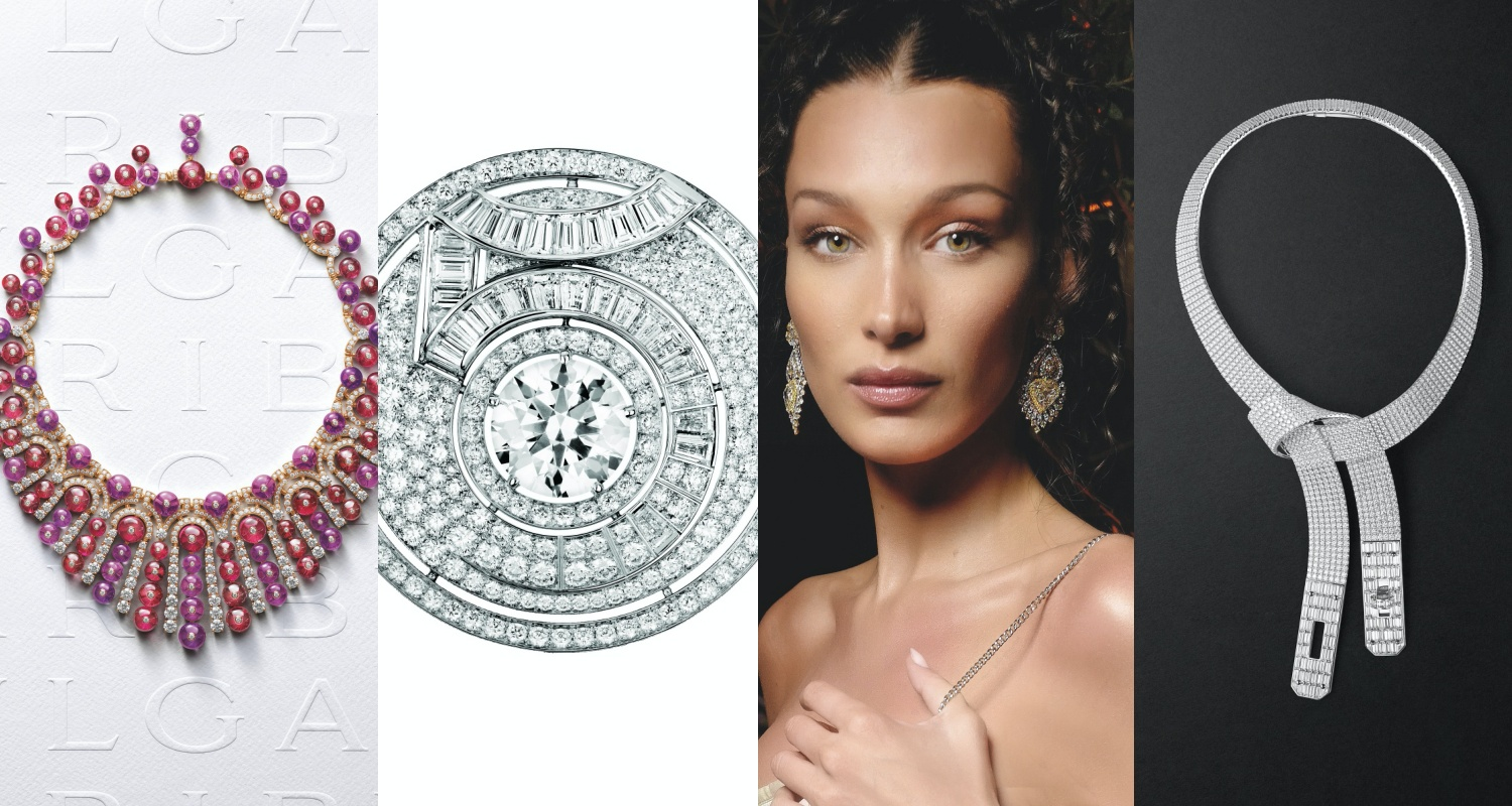View from the Top: The Best 2021 High Jewellery Selection