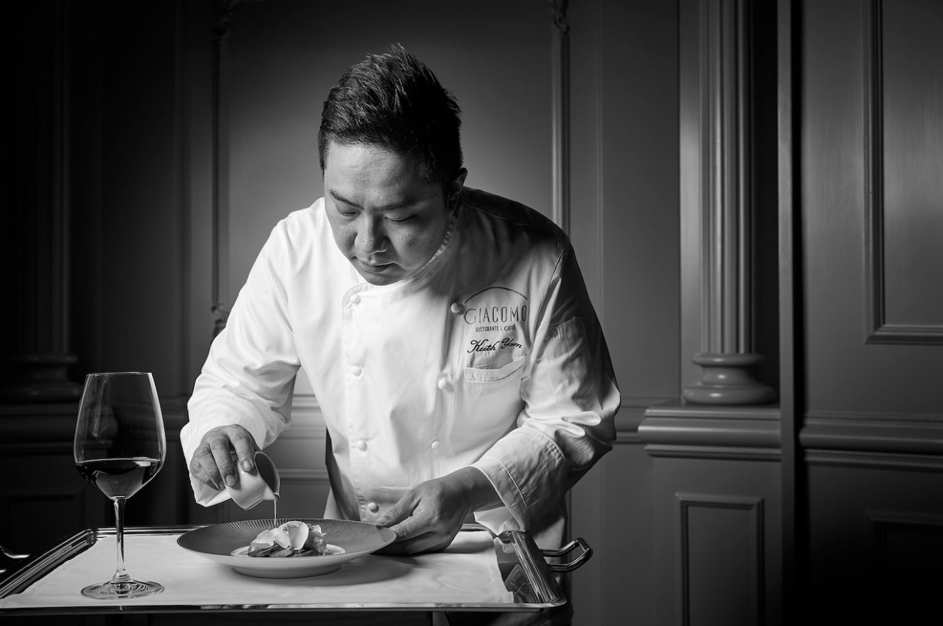 Chef Keith Yam of Giacomo on His Undying Passion and Commitment to Italian Food