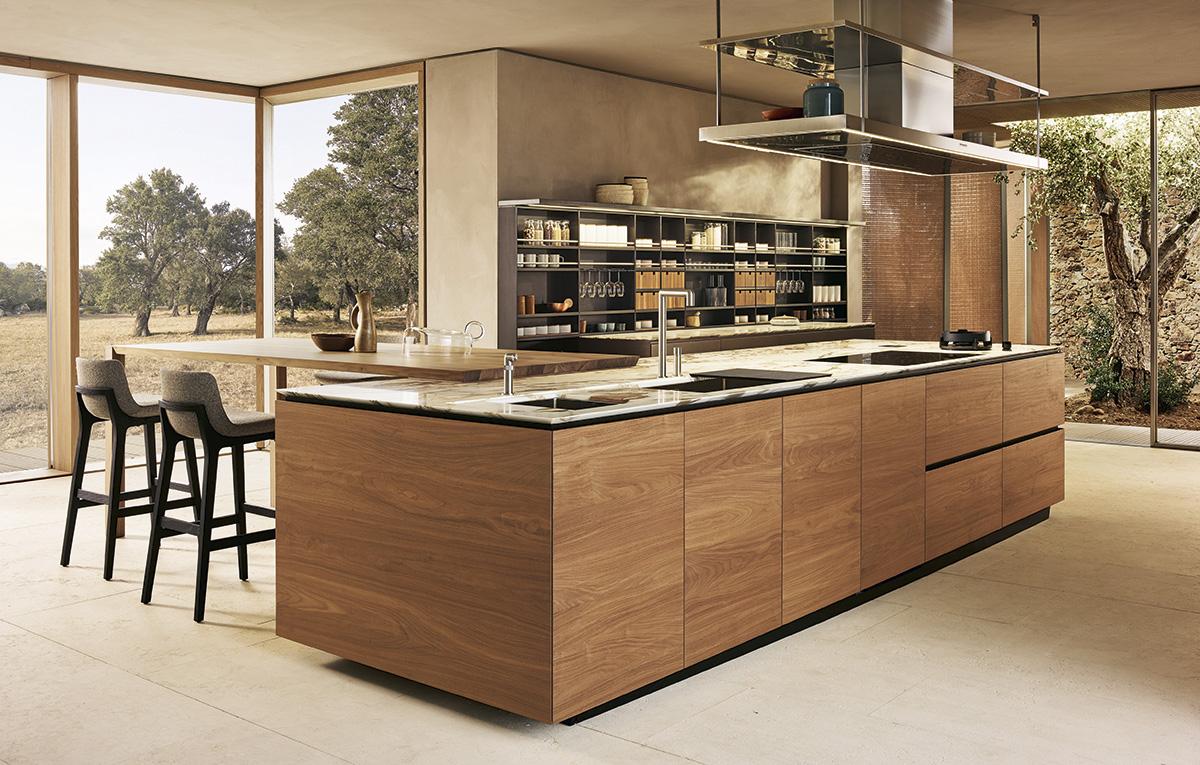 Poliform Kitchen Shows Elegant Expression through Refined ...